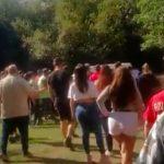 Batalla campal en una parrilla: botellazos y dos mozas heridas en pleno Día de la Madre