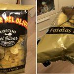 Insólito: compró papas fritas de bolsa y encontró un par de anteojos de lectura adentro